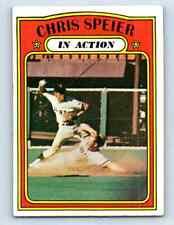 1972 Topps Chris Speier #166