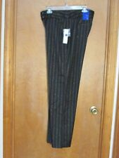 """Ladies """"Apt 9"""" Size 12, Black/Silver, Mid Rise, Tummy Control, Stretch, Trousers"""
