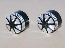 Front Axle Edge Nut Cover Cap For Harley Softail Dyna V-Rod Sportster 883 1200