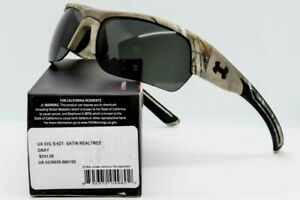 Under Armour Sunglasses Big Shot Realtree Camo Semi Rimless Wrap Microfiber Pouc