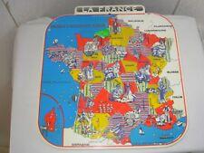 Ancienne Carte de France Mob / Puzzle / Déco