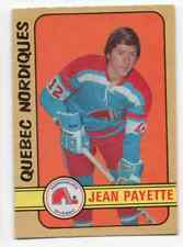 1X JEAN PAYETTE 1972 73 O Pee Chee WHA #311 NRMT opc Quebec Nordiques