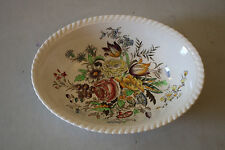 Windsor Ware Johnson Brothers Garden Bouquet Oval Vegetable Serving Bowl