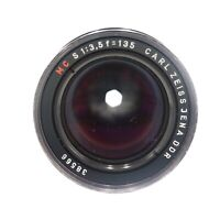 Carl Zeiss 135mm F3.5 MC Jena DDR Prime Lens - M42 Mount - VGC Working #LM-2115