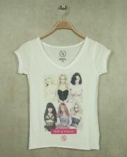 Boom Bap T-Shirt - HALL - WCV0019 V-Neck -White (weiß) +Neu+ verschiedene Größen