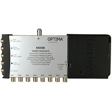 Optima Mains Powered MS508 5 x 8 way IRS Satellite Multiswitch - LIMITED STOCK