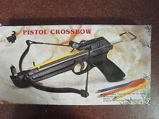 50 lb. Mini Crossbow Pistol Hand Held Gun Archery Hunting Cross Bow w/ 3 Arrows