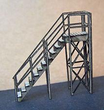 Stair Case N Scale Model Railroad Structure Unptd Laser Kit Rsl3509