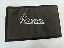 Vespa Handy Tool Kit Brown Synthetic Leather Pouch Handcrafted - Vespa Scooters