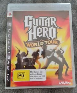 Guitar Hero: World Tour Sony PlayStation 3 PS3  Brand New and Sealed 🎮