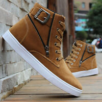 2018 Men's New Fashion Casual High Top Sport Shoes Running Athletic Sneakers