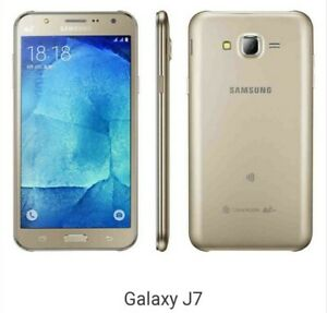 "Samsung Galaxy J7 SM-J700F (GSM Factory Unlocked global) 5.5"" 16GB"