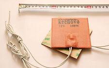 "4""X4"" 100W 12V KEENOVO Universal Silicone Heater Pad, w/ Thermostat of 80 Deg C"