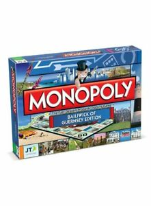 MONOPOLY - BAILIWICK OF GUERNSEY EDITION Board Game Family Game Dice Game