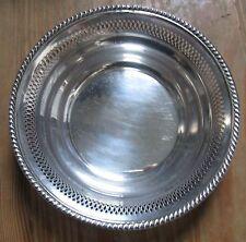 Vintage Baldwin & Miller B & M Piereced Sterling Silver Bowl Candy Dish #66