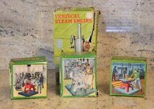 Vintage Marx Vertical Steam Engine w/ Buffer, Saw & Grinding Stone w/ Boxes