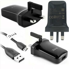 Genuine HTC One M9 M8 610 310 Mains Charger 1.5A Adapter USB Cable TC P900-UK