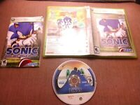 Microsoft Xbox 360 CIB Complete Tested Sonic the Hedgehog Sonic 06 Ships Fast