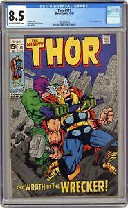 Thor #171 CGC 8.5 1969 3823057024