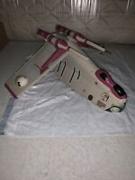 "Star Wars Clone Wars Republic Gunship ""Crumb Bomber"" With Rare Back Missile"