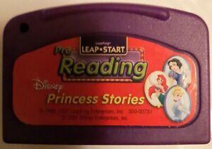 Leap Frog LeapPad Replacement Cartridge - DISNEY PRINCESS STORIES [LEAPSTART]