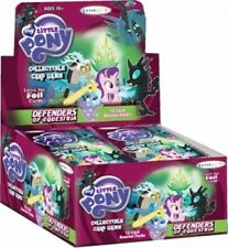 MLP MY LITTLE PONY  DEFENDERS OF EQUESTRIA CCG TCG BOOSTER BOX 36 PACKS NEW