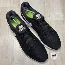 Nike Zoom Pegasus 33 Black Running Trainers Size 11 EU 46
