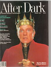 AFTER DARK entertainment magazine/RICHARD BURTON/Xanadu/Camelot 8-80