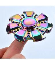 METAL rainbow roue figet Spinner Main Doigt Bar Poche Bureau main jouets jeu