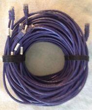 24' foot Purple Patch Cables CAT 5E