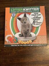 Brand New In Box Litter Kwitter Cat Toilet Training System Lk-1 Amazing Results!