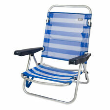 Silla de playa plegable y reclinable aluminio Aktive Beach 108x60x78  Envio 24h