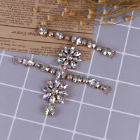 1Pc Women rhinestone crystal shoes clip buckle sandals charm accessories  *TRFR