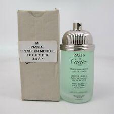 PASHA FRAICHEUR MENTHE by Cartier 100 ml/3.4 oz Eau de Toilette Spray NO CAP (T)