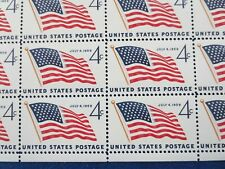 New listing Scott 1132 4c U.S. 49 Star Flag July 4, 1959 50 Stamp Sheet