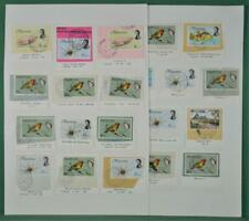 MAURITIUS STAMPS SELECTION OF POSTAL HISTORY POST MARKS ON 2 ALBUM PAGES   (J68)