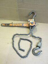 Yale Pl46C Pul-Lift 3/4 Ton Hoist/Come Along w/ 5 foot chain