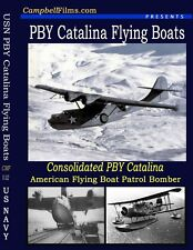 USN PBY Films Catilina Flying Boat WW2 Nazi Seaplanes Floatplanes PBY
