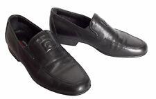 Chaussures détente  PIERRE CARDIN cuir noir taille 40 UK 6.5 US 7