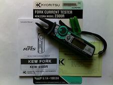 1PCS New KYORITSU 2300R True RMS Fork Current Tester Meter