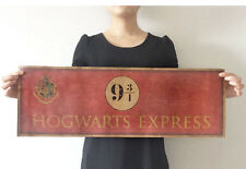 Retro Harry Potter Poster Hogwarts Express Platform 9¾ Poster Bar Club Decor