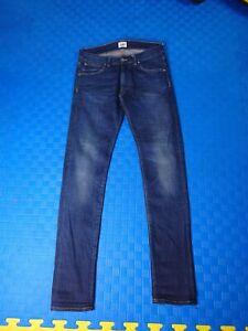 EDWIN ED-85 Slim Tapered Blue Denim Jeans Mens Tokyo Japan w30 l32
