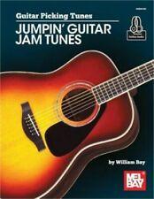 Guitar Picking Tunes Jumpin' Guitar Jam Tunes Music Book/Online Audio-Brand New!
