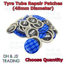Small Tyre Tube Patches Inner Tube Repair Patch 45mm Motorbike Bike Cycle MX ATV
