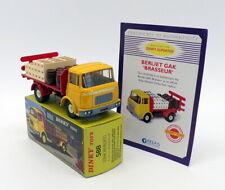 Atlas Editions Dinky Toys 588 Berliet Gak Brasseur Truck + Certificate - Yellow