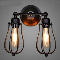 Modern Retro Vintage Industrial Wall Mounted Lights Rustic Sconce Lamp Fixture