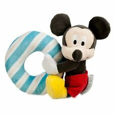 Disney Store Infant Baby Plush Rattle Mickey Mouse  NEW
