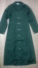 Ladies uniform dress lab coat housekeeper cleaner NHS Size 16-18 Green NEW