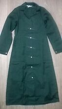 Ladies uniform dress lab coat cleaner housekeeper NHS Size 16-18 Green NEW
