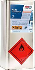 Eurolub Nitro Verdünnung Waschverdünnung Nitroverdünnung für zB Autolack 6 Liter